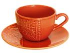 Kahvikupit ja alustat PITSI, 6 kpl ET-51827