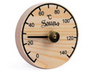 Saunan lämpömittari, mänty RH-54017