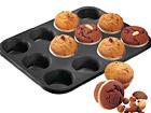 Muffinsivuoka BLANCK METALLIC, 12 kuppia UR-55740