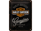 Retrotyylinen metallijuliste HARLEY-DAVIDSON MOTORCYCLES 20x15 cm SG-57110