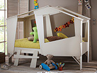 Lastensänky CABANE+patja INTER BONNEL 90x200 cm CM-60397