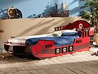 Lastensänky CRAZY SHARK+patja INTER BONNEL 90x190
