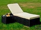 Säädettävä lepotuoli + sohvapöytä CM-61193