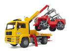 Hinausauto+maastoauto MAN KL-63083