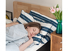 SLEEPWELL sängynpääty, luonnonsävy 90 cm SW-64176