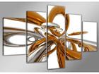 Viisiosainen seinätaulu RINGIT ED-65497