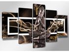 Viisiosainen seinätaulu BUDDHA ED-65503