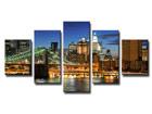 Viisiosainen seinätaulu NEW YORK ED-65556