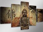 Viisiosainen seinätaulu BUDDHA