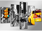 Viisiosainen seinätaulu NEW YORK ED-65609