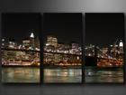 Kolmeosainen seinätaulu NEW YORK
