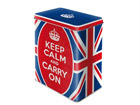 Peltipurkki KEEP CALM AND CARRY ON 3 L SG-68130