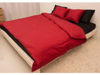 Vuodevaatesetti RED-BLACK satiini 240x210 cm AN-69969