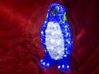 Akryylikoriste PINGVIINI LED valoilla HÜ-70984