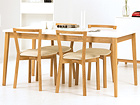 Ruokapöytä BLANCO DINING TABLE 90x165 cm WO-73405