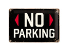Retrotyylinen metallijuliste NO PARKING 20x30 cm SG-74247