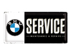 Retrotyylinen metallijuliste BMW SERVICE 25x50 cm SG-74249