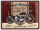 Retrotyylinen metallijuliste HARLEY_DAVISON PANHEAD 30x40 cm SG-74259