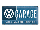 Retrotyylinen metallijuliste VW GARAGE 25x50 cm SG-74273
