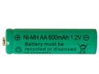 Aurinkoenergialla ladattava Ni-MH akku AA 1,2 V AA-74540