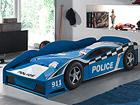 Sänky POLICE CAR 70x140 cm AQ-75153