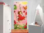 Kuvatapetti STRAWBERRY FAIRY-TREESWING 100x210 cm ED-76654