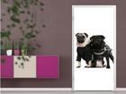 Kuvatapetti POSH PUG DOGS 100x210 cm ED-76685