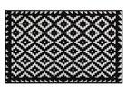 Matto TABUK BLACK % WHITE 75x120 cm A5-77311