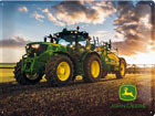 Retrometallijuliste JOHN DEERE PHOTO MODEL 6150 R 30x40 cm SG-78381