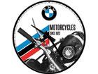 Retro seinäkello BMW MOTORCYCLES SINCE 1923 SG-78402