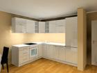 Korkeakiiltoinen keittiö AR-78454