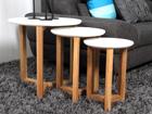 Sohvapöydät OSAKA, 3 kpl CM-79130