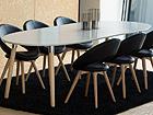 Jatkettava ruokapöytä BELINA 100x170-270 cm CM-79284