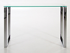 Lasipöytä KATRINE 110x40 cm CM-79477