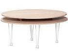 Sohvapöytä Luna 2 110x80 cm HP-79489