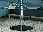 Sohvapöytä säädettävällä korkeudella SORTELLO Ø 80 cm CM-79554