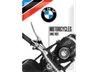 Retrotyylinen metallijuliste BMW MOTORCYCLES SINCE 1923 30x40 cm SG-80069