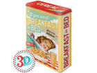 Peltipurkki 3D IF YOU WANT BREAKFAST IN BED 4 L SG-80668