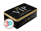 Peltipurkki #D VIP EXLUSIVE 2,5 L SG-80670