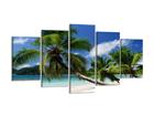 Viisiosainen seinätaulu PALMUT 200x100 cm ED-80890