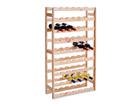 Puinen viinihylly, mänty GB-82116