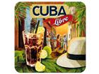 Retro lasinalusta CUBA LIBRE 4 kpl SG-82347
