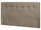 Kangasverhoiltu sängynpääty napeilla 200x113x10 cm FR-83189