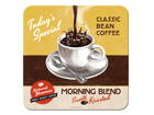 Retro lasinalusta MORNING BLEND 4 kpl SG-84331