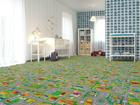Lastenhuoneen matto LIIKENNE