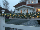 Seppele EDMONTON LED valoilla 2,7 m