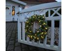 Jouluseppele LED valoilla 90 cm