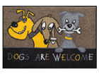 Matto DOGS ARE WELCOME 50x75 cm A5-84587