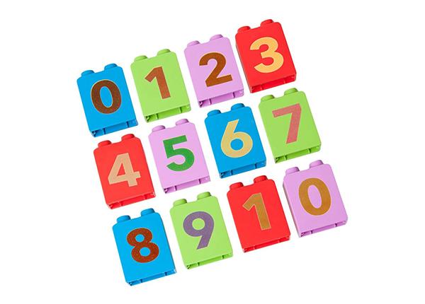 Lisäpalikat PLACEMATIX, numerot GB-85585