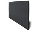 Kangasverhoiltu sängynpääty HYPNOS joustinsänkyyn 80x65x6 cm FR-86042